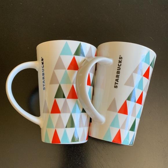 Starbucks Coffee Mugs (2)